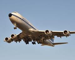 Lufthansa 747 D-ABYT at LAX (Ian E. Abbott) Tags: boeing 7478 747 lufthansa dabyt 37844 losangelesinternationalairport losangeles klax lax