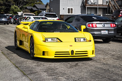 Bugatti EB110 SS (Hunter J. G. Frim Photography) Tags: supercar hypercar car week 2019 monterey carmel carweek exotics broadway bugatti eb110 ss supersport yellow carbon turbo awd wing coupe rare french bugattieb110 bugattieb110ss