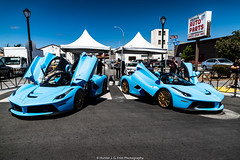 BuckBlu Ferrari LaFerrari (Hunter J. G. Frim Photography) Tags: supercar hypercar car week 2019 monterey carmel carweek exotics broadway ferrari laferrari aperta coupe carbon blue buckblu v12 hybrid electric italian rare limited ferrarilaferrari ferrarilaferrariaperta