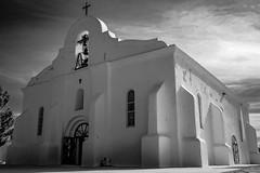 (el zopilote) Tags: sanelizario texas lacapilladesanelcear churches townscape street architecture smalltowns pentaxk1ii hdpentaxfa35mmf2 bw bn nb blancoynegro blackandwhite noiretblanc monochrome elcaminoreal