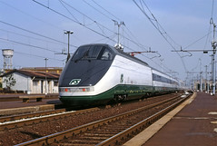 000 (maurizio messa) Tags: yashicafxd lombardia etr500 etr500x e404000 prototipo prototype mau bahn ferrovia treni trains railway railroad etr etrx500