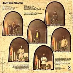 Black Oak Arkansas - Back Cover (epiclectic) Tags: 1971 blackoakarkansas boa backcover epiclectic vintage vinyl record album cover art retro music sleeve collection lp epiclecticcom