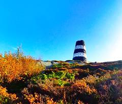 Atumn at Herføl. Norway (trine.syvertsen) Tags: autumn hvaler norway seaside herføl cairn