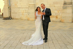 Wedding couple (irio.jyske) Tags: wedding weddingcouple bride groom picture pics man woman party celebrate smile happy together standing photos camera townscapes townphotograph townscape town townphtograph townpic townphotos townscapephotographer townscapephotograph townphotographer oldtown beautiful beauty