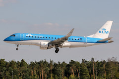 PH-EXO (PlanePixNase) Tags: frankfurt fra eddf airport aircraft planespotting embraer e175 e75 klm cityhopper