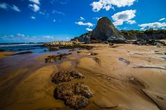 Baskenland0009Sopela (schulzharri) Tags: baskenland basque spanien spain espana bilbao reise travel strand beach meer ocean atlantik felsen rock water himmel wasser sky