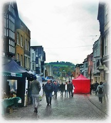 the red Marquee * (John(cardwellpix)) Tags: once monthly farmers food producers high street market ~ guildford surrey