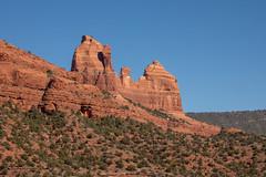 The view of the red rocks from the Huckaby Trail in Sedona, Arizona. (apardavila) Tags: travel arizona desert sedona wanderlust redrock coconinonationalforest schneblyhill huckabytrail