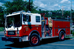Jamesville Fire District NY (adelaidefire) Tags: ny jamesville engine 4 mack emergency one