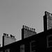 DSC_9086 chimneys - urban geometry in Manchestery
