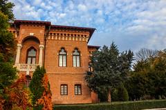 Autumn at the palace (MalinaIoP) Tags: canon eos 600d palace mogosoaia romania sky november autumn nature
