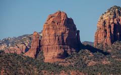 The view of the red rocks from the Huckaby Trail in Sedona, Arizona. (apardavila) Tags: arizona coconinonationalforest huckabytrail schneblyhill sedona desert redrock travel wanderlust