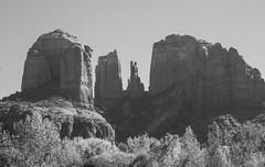 The view of Cathedral Rock from Crescent Moon Ranch in Sedona, Arizona. (apardavila) Tags: arizona coconinonationalforest crescentmoonranch sedona cathedralrock desert redrock travel wanderlust