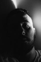 Slef Portrait, 2019 (James Banko Photography) Tags: selfportrait selfie melbournephotographer me sonya7 sony sonya7r sonya7rii blackandwhite blackwhite face