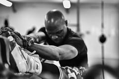 Stretching, Club de boxe, Gymnase Maurice Baquet, Pantin (johann walter bantz) Tags: sport zeiss documentary 55mm suburbs 93 reportage pantin documentaire gymnase banlieueparisienne sportsphotographer clubdeboxe sonyilce7rm3 fitness boxe boxeanglaise boxephotos boxephotographe