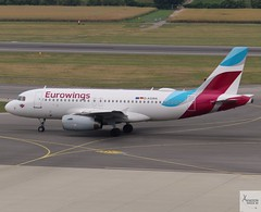 Eurowings A319-132 D-AGWA taxiing at VIE/LOWW (AviationEagle32) Tags: vienna viennaairport viennaschwechatairport schwechatairport schwechat vie loww austria airport aircraft airplanes apron aviation aeroplanes avp aviationphotography avgeek aviationlovers aviationgeek aeroplane airplane planespotting planes plane flying flickraviation flight vehicle tarmac eurowings lufthansagroup airbus airbus319 a319 a319100 a319132 dagwa