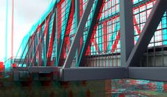 Tijdelijke loopbrug Torens St-Bavo Haarlem 3D