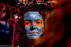 """Dia de los muertos"", Mixquic @Mexico (runfleti2) Tags: makeup vacation mexico nikonphotography nikond7100 nikon catrina"