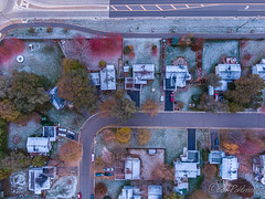 20191103-DJI_0957.jpg (GrandView Virtual, LLC - Bill Pohlmann) Tags: fallcolors cottagegrovemn roundabout 95thstreet sunrise hadleyavenue minnesota snow