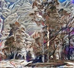 Lens & Brush 19 (V_Dagaev) Tags: trees sky art painterly painting painter paintingsfromphotos paint digital landscape nature visualdelights