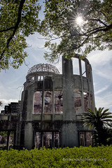 ATOMIC BOMB DOME, HIROSHIMA, JAPAN...colour (IMAGES OF WALES.... (TIMWOOD)) Tags: japan hiroshima kyoto castle atomic bomb dome abomb disaster war crime crimes temple shrine rwc