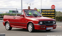Zastava Yugo cabriolet (from Serbia) (Wouter Bregman) Tags: pp010ze zastava yugo cabriolet zastavayugo koral cabrio convertible roadster tourer red rood rouge застава југо заставајуго корал кабрио pp пп prijepolje пријепоље serbia србија automédon 2019 le bourget lebourget îledefrance 93 france frankrijk carshow meeting yugoslav serbe serbie servië yougoslavia youngtimer old car auto automobile voiture ancienne vehicle outdoor