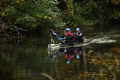Basingstoke Canal Ash - Ash Vale 3 November 2019 024 (paul_appleyard) Tags: basingstoke canal ash vale surrey november 2019 canoe autumn colours fall colors reflections