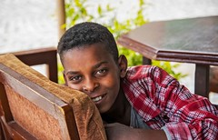 Restaurant Boy (Rod Waddington) Tags: africa african afrique afrika äthiopien adigrat boy child culture cultural restaurant chair table ethiopia ethiopian ethnic ethnicity etiopia ethiopie etiopian tigray