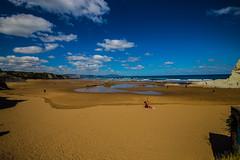 Baskenland0001Sopela (schulzharri) Tags: baskenland basque spanien spain espana bilbao reise travel strand beach meer ocean atlantik sonnenuntergang felsen rock water himmel wasser sky