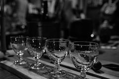 Fujii Sake Brewery.Glass. (hiko1625) Tags: glass モノクロ monochrome snap 藤井酒造 brewing 憧憬の路 festival takehara hiroshima 竹原 広島 japanese japan