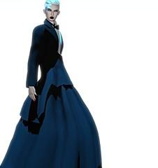 Porter Haus (Winter Jefferson) Tags: winterjefferson avatar secondlife andro androgynous zans tuxedo avatarfashion bento doll dress editorial tuxedress steampunk formal