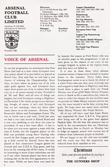 Arsenal vs Everton - 1978 - Page 2 (The Sky Strikers) Tags: arsenal everton football league division one highbury official programme 20p