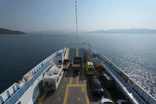 ferry in Greece