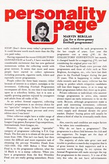 Arsenal vs Everton - 1978 - Page 4 (The Sky Strikers) Tags: arsenal everton football league division one highbury official programme 20p