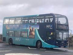 Arriva North East 7553 SN15 LLD (06/11/2019) (CYule Buses) Tags: servicex15 arrivamax arrivabus arrivanortheast enviro400 alexanderdennis alexanderdennisenviro400 sn15lld 7553