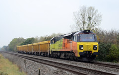 70813. (curly42) Tags: 70813 class70 colas railway transport naascrossing freight