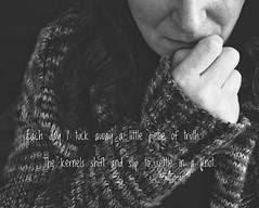 305.365.2019 (sadandbeautiful (Sarah)) Tags: me woman female self selfportrait dailyselfportrait day305 365 365days 365daysx9 bw