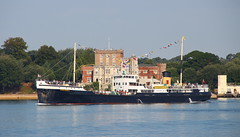 Shieldhall (Kev69) Tags: steamship shieldhall port poole harbour dorset maritimeimages brownseaisland