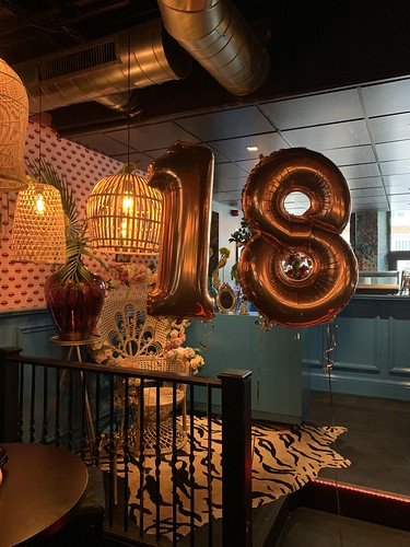 Folieballon Cijfer 18 Luster Rotterdam