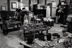 Fujii Sake Brewery.Family. (hiko1625) Tags: family モノクロ monochrome brewing 藤井酒造 憧憬の路 festival snap takehara hiroshima 竹原 広島 japanese japan xf23mmf14 xpro2 fujifilm