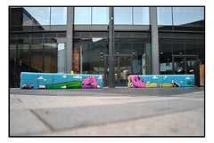 LONDON STREET ART by MOWSCODELICO. (StockCarPete) Tags: streetart londonstreetart urbanart graffiti londongraffiti glor mowscodelico shoreditch london uk shoreditchart