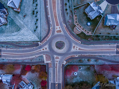 20191103-DJI_0988.jpg (GrandView Virtual, LLC - Bill Pohlmann) Tags: fallcolors cottagegrovemn roundabout 95thstreet sunrise hadleyavenue minnesota snow