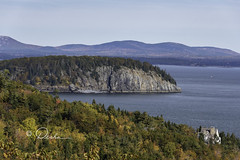 Acadia National Park in Maine (Desha.) Tags: acadia maine harbor water sea ocean autumn view new england newengland nature acadianationalpark mountains pinetrees pines rock amazingview landscape