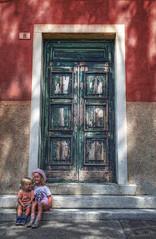 (mokastet) Tags: mokastet italy venice hdr burano sisters portrait