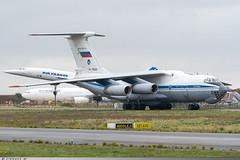 Ilyushin Il-76 MD Russian Federation Air Force RA-76669 (Clément W.) Tags: ilyushin il76 md russian federation air force ra76669 lfpg cdg