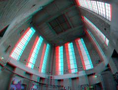 Toren Koepelkathedraal St-Bavo Haarlem 3D GoPro