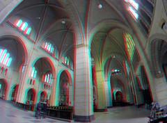 Koepelkathedraal St-Bavo Haarlem 3D GoPro