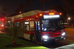 LACMTA 8718_704 Ocean & Arizona (Curb Side) 5-Nov-2019. (jonriley1979@att.net) Tags: lacmta metro losangeles newflyer nfi xn60 rapid xcelsior bus