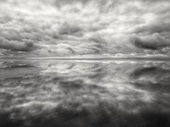 This beautiful world. (martinwozenilek) Tags: cloudporn clouds northsea ocean water beach landscape nature blackandwhite sky germany nordsee