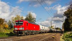 DB 193 367 on GA 45474 at Misburg (37001 overseas) Tags: misburg hannover ga 45474 swarzedz seelze 193367 1933670 transwaggon laadkks laadrs volkswagen września